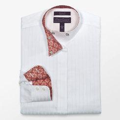Essex Classics Girls Pierre Wrap Collar Show Shirt Best Price