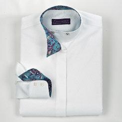 Essex Classics Girls Veracruz Wrap Collar Show Shirt Best Price