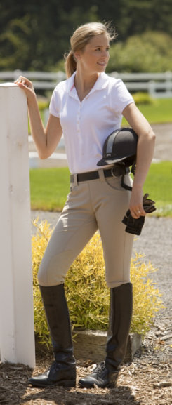 FITS Ladies Jumpline Beka Kneepatch Riding Breeches Best Price