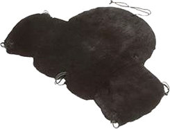Fleeceworks Full Western Saddle Cover with Cantle Cover