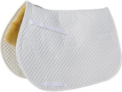 Fleeceworks Replacement Square All Purpose and Close Contact Saddle Pad