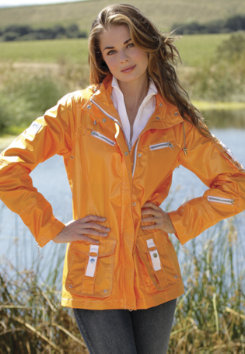 Goode Rider Ladies Storm Jacket<font color=#000080>- SIZE:  Small  COLOR:  Mid. Navy</font> Best Price