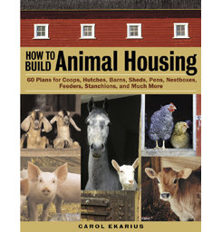 How to Build Animal Housing by Carol Ekerius Best Price