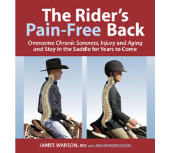 The Rider's Pain Free Back by James Warson Best Price