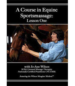 A Course In Equine Sportmassage DVD