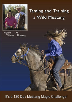 Taming and Training a Wild Mustang DVD by Wylene Wilson Best Price