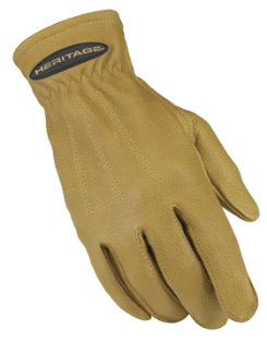 Heritage Deerskin Winter Trail Gloves - Ladies
