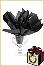 Horseshoe Gift Packaging Black Tissue Paper