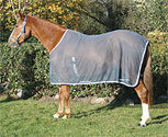 Rambo by Horseware Net Cooler-Charcoal/Grey