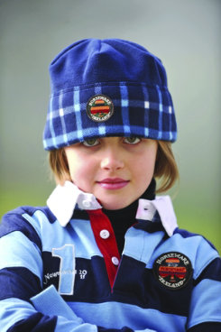 Horseware Newmarket Kids Check Fleece Hat Best Price