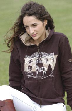 Horseware Ladies Newmarket Hooded Sweatshirt Best Price