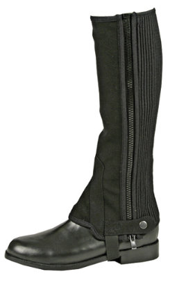 Amigo by Horseware Kids Nubuck Half Chaps Best Price