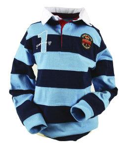 Horseware Unisex Striped Rugby Shirt Best Price
