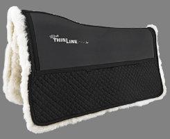 Ultra Thinline Sheepskin Comfort Western Saddle Pad Best Price