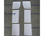 ThinLine Western Cotton Liner Pad Rear Inserts