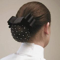 Diamond Hair Accessories Rhinestone Net Hair Bow Best Price