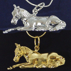 Exselle Resting Foal Pendant Best Price