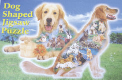 Intrepid  Dog Shaped Puzzle Best Price