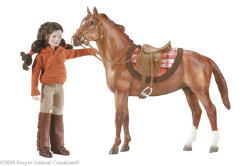 Breyer Saddle Club Lisa and Prancer Gift Set