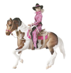 Breyer Traditional Let's Go Riding Western Set
