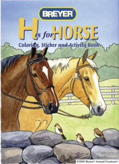 Breyer H is for Horse Activity Book Best Price