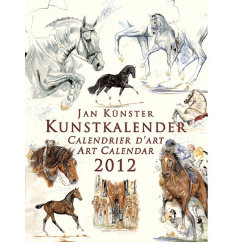 Jan Kunster Horses in Motion Calendar 2012 Best Price