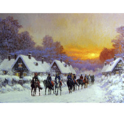 Sally Mitchell  Morning Glow Christmas Cards Best Price