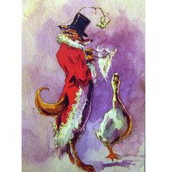 Sally Mitchell  Under the Mistletoe Christmas Cards Best Price