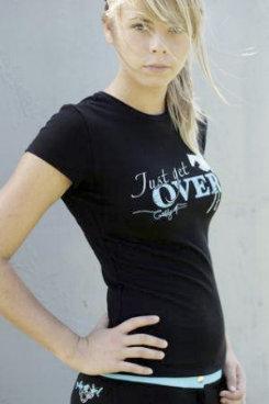 Jillaroo Australia Juniors Just Get Over It Tee Shirt Best Price
