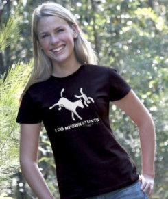 Jillaroo Australia Juniors I Do My Own Stunts Tee Shirt Best Price