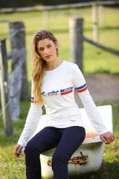 Jillaroo Australia Juniors Running Horse Tee Shirt Best Price