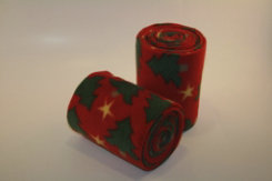 Peace Love and Horses Christmas Tree Polo Wraps Best Price