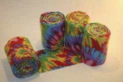 Peace Love and Horses Crazy Tie Dye Polo Wraps Best Price