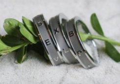 The Centerline Ring Set by Jumpline Designs<font color=#000080>- SIZE:  7  COLOR:  Silver</font> Best Price