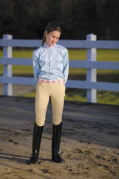 TuffRider Childrens Light Cotton Riding Breeches