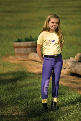 Girl in Riding Breeches