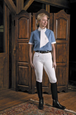 TuffRider Ladies Aerocool Full Seat Riding Breeches
