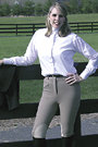 1824 TuffRider Ladies Cotton Plus Size Riding Breeches