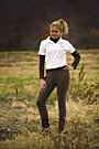 TuffRider Ladies Cotton Schooler Riding Tights
