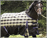 TuffRider 600D Pony Plaid Heavyweight Turnout Blanket