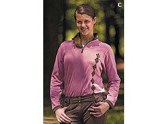 Equine Couture Ladies Geneva Argyle Crystal Shirt Best Price