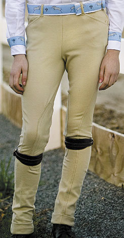Tuffrider Child's Light Cotton Side Zip Jodhpurs