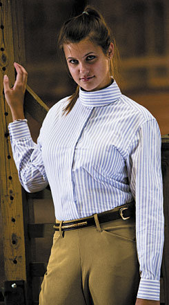 TuffRider Middleburg Long Sleeve Show Shirt Best Price