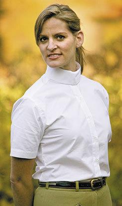 TuffRider Ladies Short Sleeve Starter Show Shirt Best Price