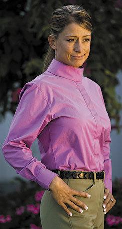 Tuffrider Ladies Short Sleeve Elegance Show Shirt Best Price