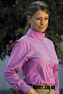 Tuffrider Ladies Long Sleeve Elegance Show Shirt
