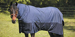 TuffRider 1200D Integrated Neck Thermolined Turnout Horse Blanket