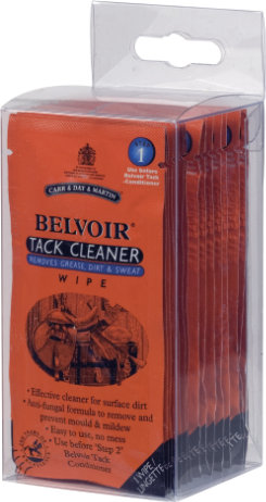 Belvoir Tack Cleaner Wipes by Carr and Day and Martin Best Price