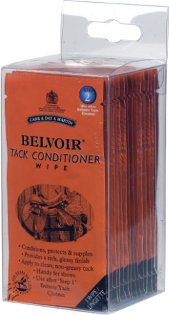 Belvoir Tack Conditioner Wipes by Carr and Day and Martin Best Price