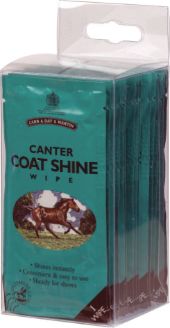 Canter Coat Shine Wipes by Carr and Day and Martin Best Price